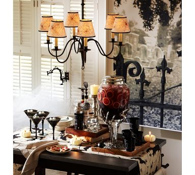 halloween party inspiration from pottery barn posted - Pottery Barn Halloween Decorations