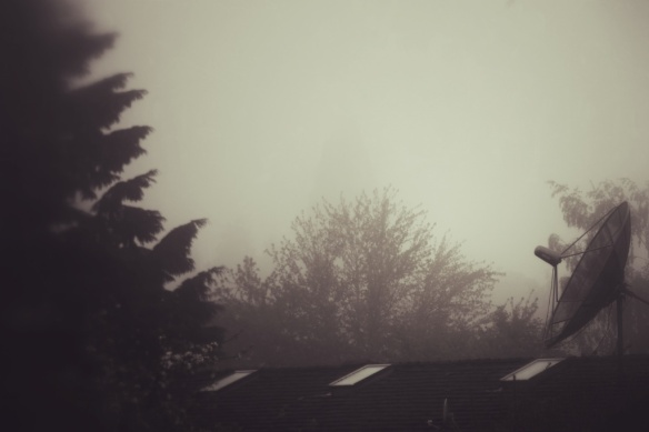 foggy am