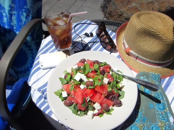 Watermellon feta