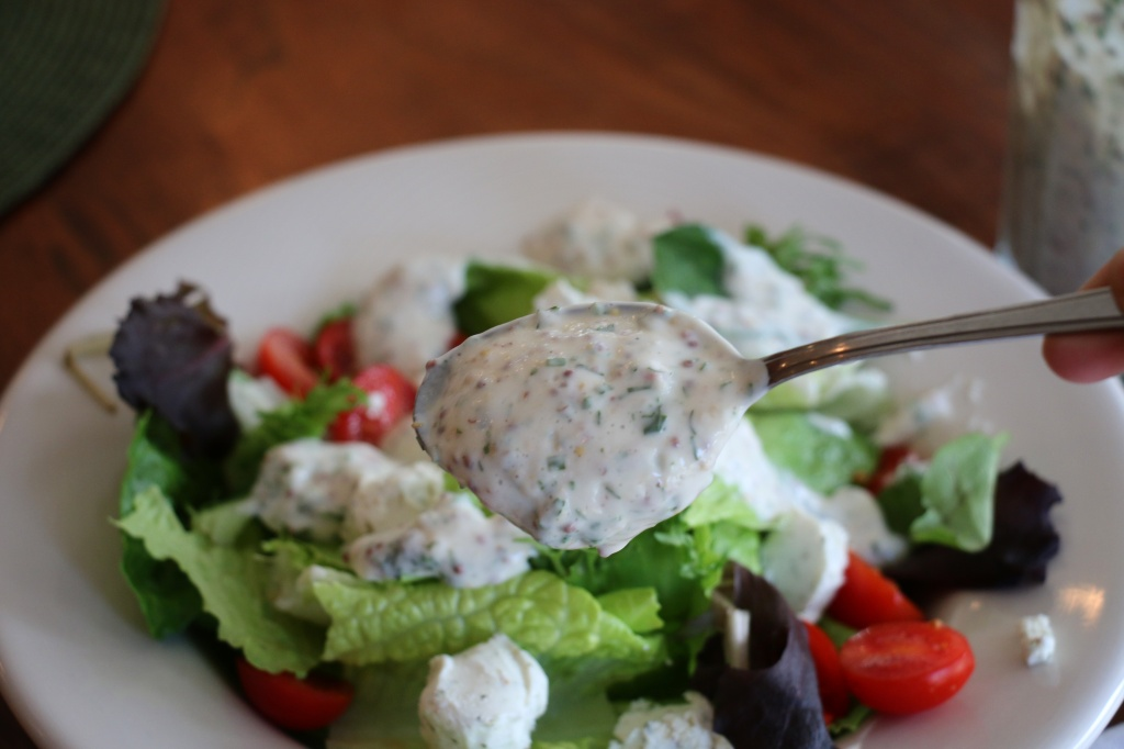 Creamy Herb and Mustard Dressing