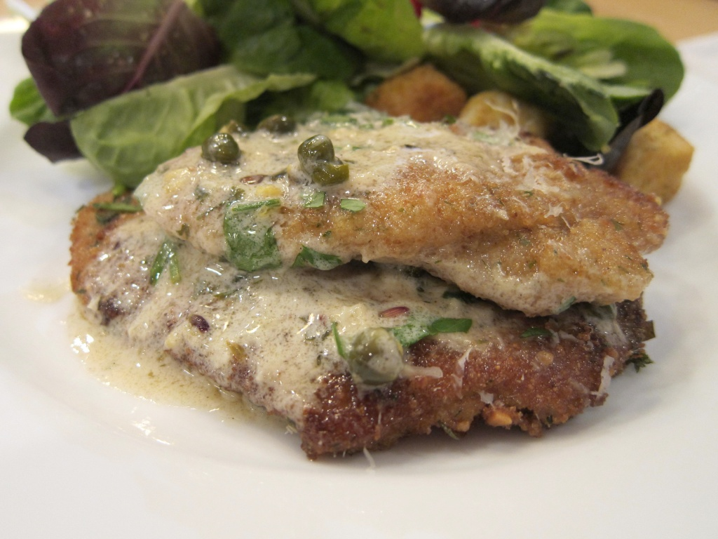 Pork Lion Piccata