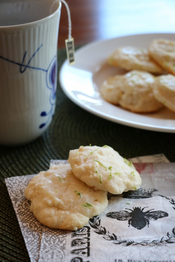 citrus cream cheese cookies