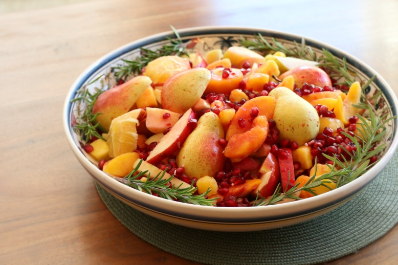 Pear & Pom salad